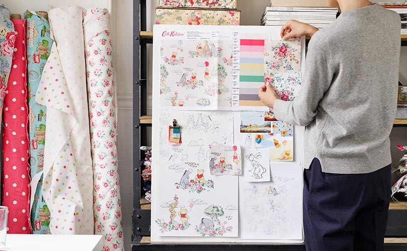 first look disney x cath kidston winnie the pooh. Black Bedroom Furniture Sets. Home Design Ideas