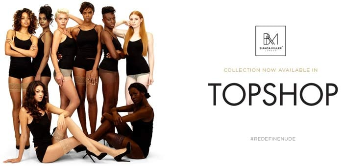 Bianca Miller London launches in Topshop