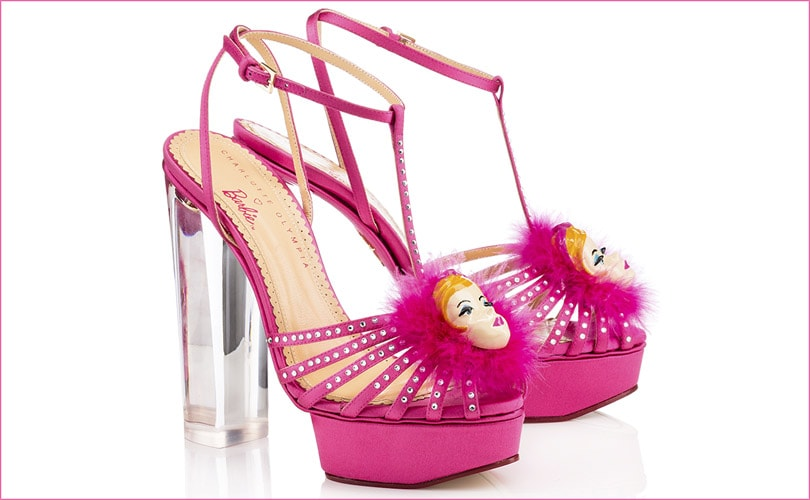 6a9a9f5d287 Charlotte Olympia launches Barbie collection