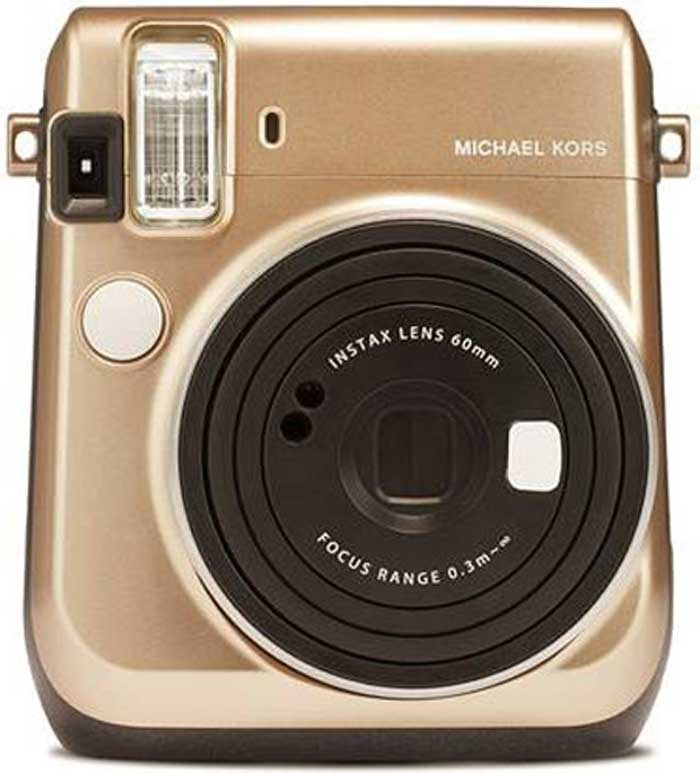 a0200a2d39fb Michael Kors x Fujifilm launch limited edition Instax