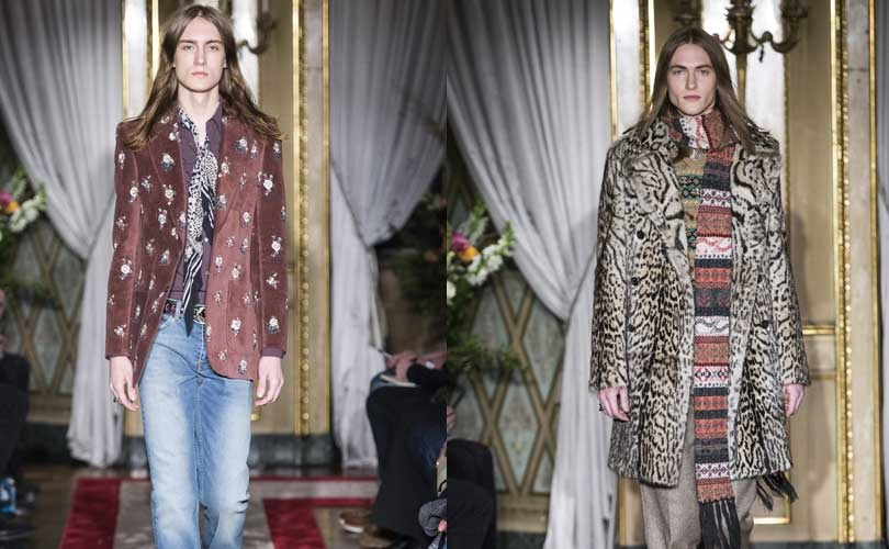 Milan Fashion Week: Peter Dundas menswear debut at Roberto Cavalli
