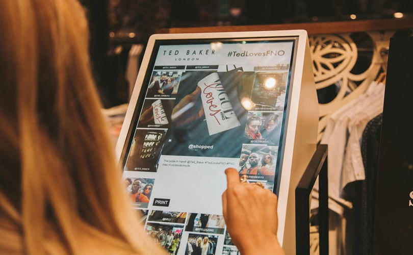 2e547c55f2ed Ted Baker named  the most socially engaging menswear retailer