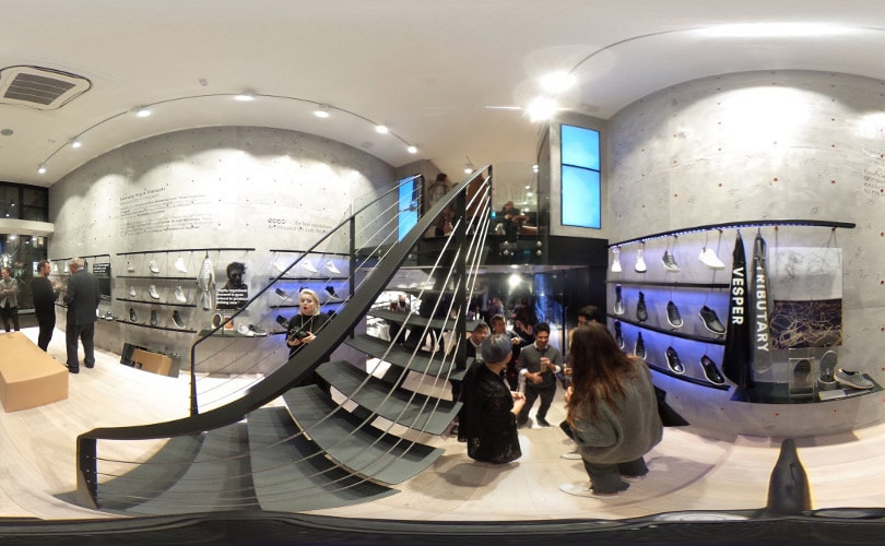 360° video - A look inside of Ecco's W-21 new store concept