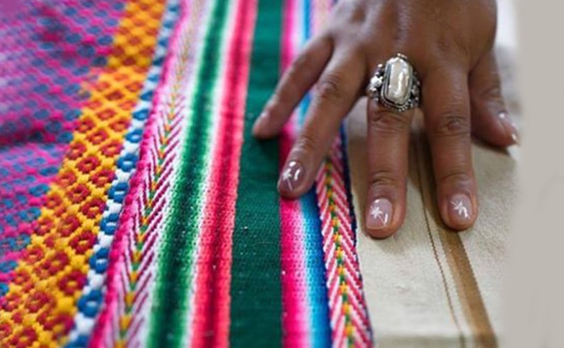 Bolivian Designer Exports High End Indigenous Fashion