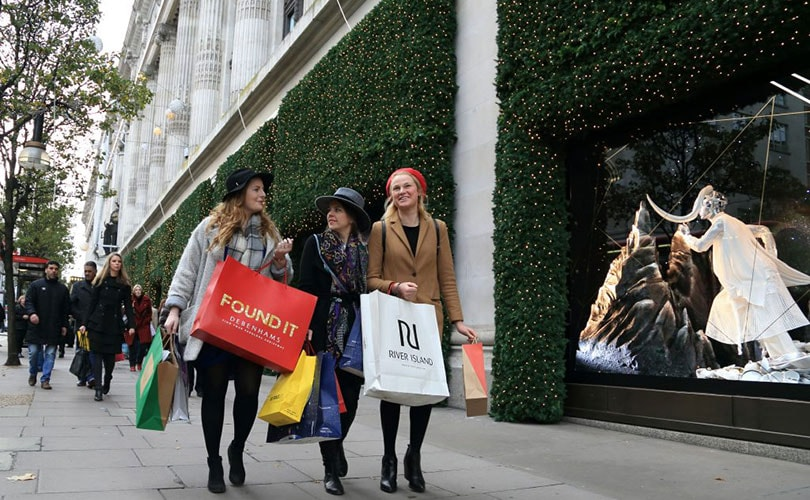 West End retailers forecast Christmas boom