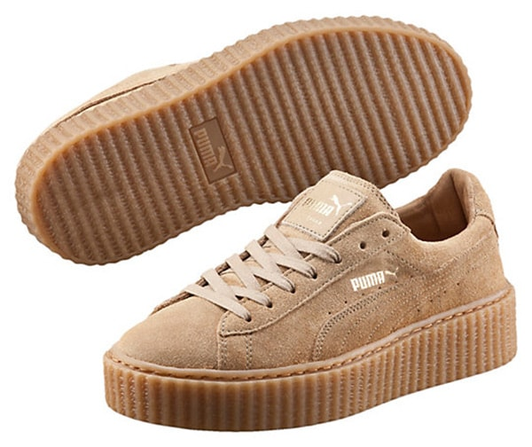 sports shoes 1b83a dbabb Fenty Puma Creeper by Rihanna named 2016 Shoe of the Year