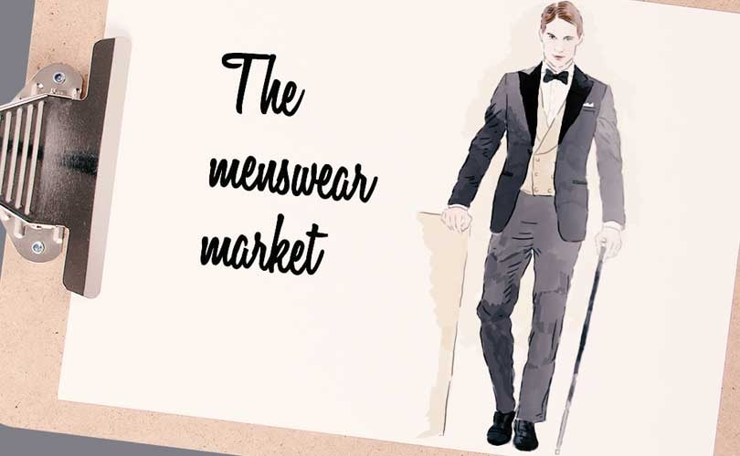 Infographic - The menswear market