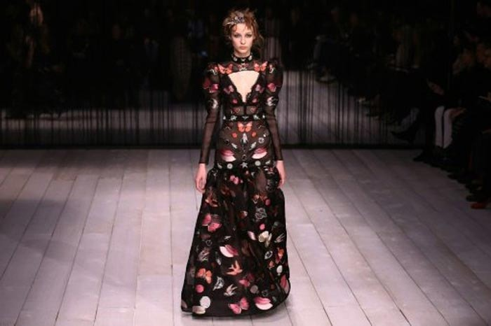 Alexander McQueen stages London Fashion Week comeback