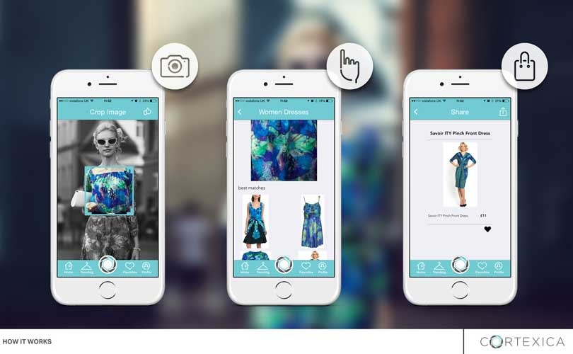 John Lewis introduces app with visual search technology for clothing