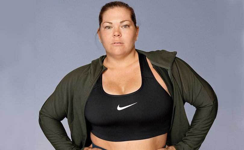 386efb4d83f In Pictures  Nike s first plus-size range