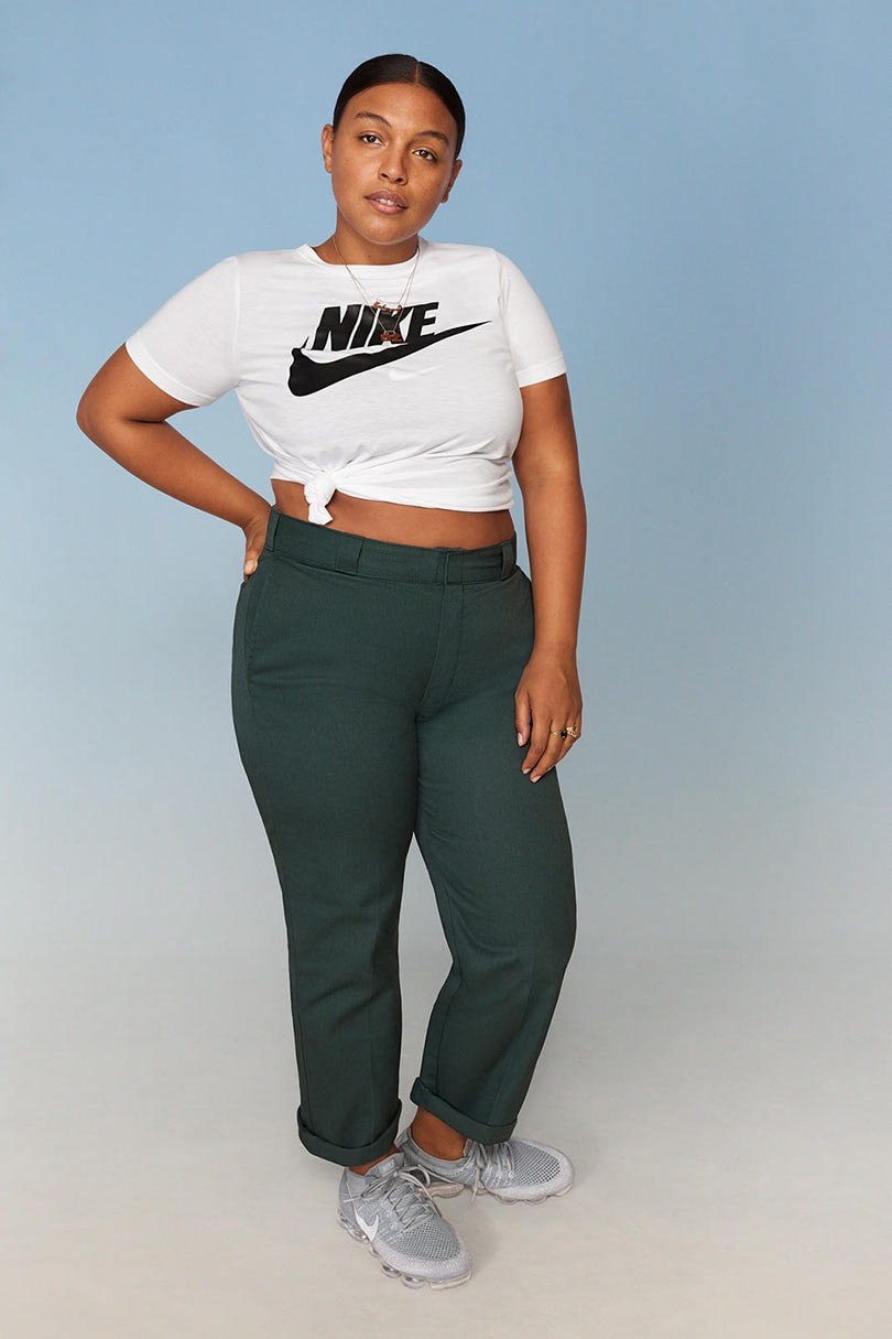 In Pictures: Nike's first plus-size range