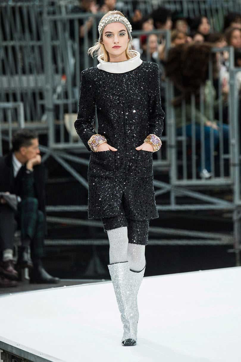 9267274fb85 Chanel goes to outer space at Paris Fashion Week