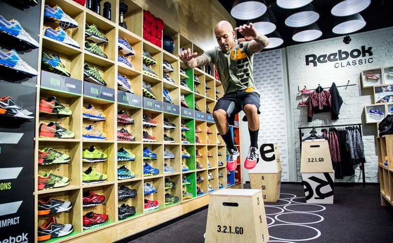 Reebok to open 500 FitHub stores in China by 2020