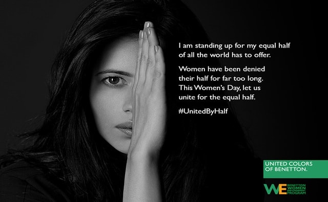 #UnitedByHalf: Benetton launches gender equality campaign in India