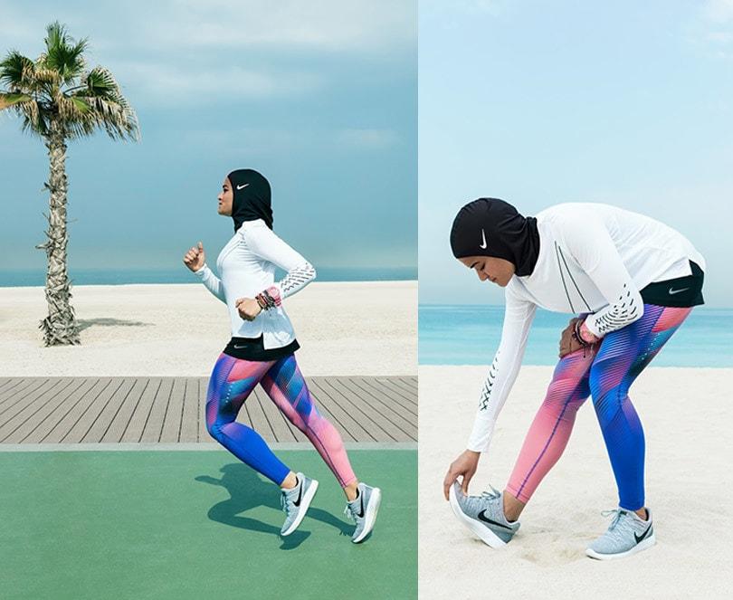 Nike stellt neuen Sport-Hijab vor