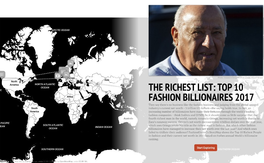 Rich List: Top 10 Billionaires in Fashion 2017