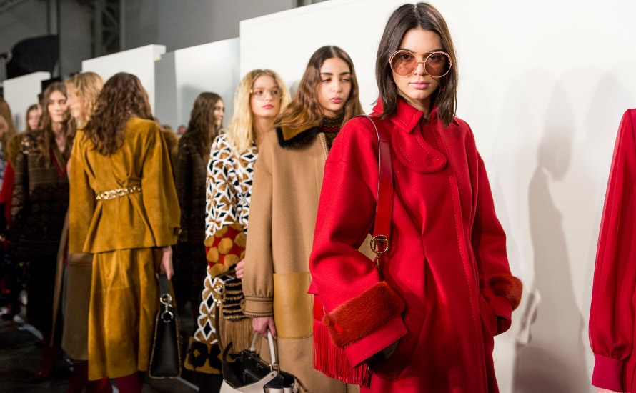 Fall Winter 2017-18 Womenswear Colour on the Catwalks