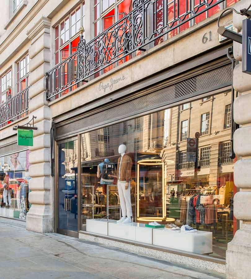 In picture pepe jeans new regent street flagship store - Pepe jeans showroom ...