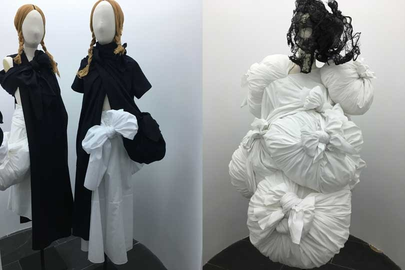 In Pictures: Themes of Kawakubo's Art of the In-between