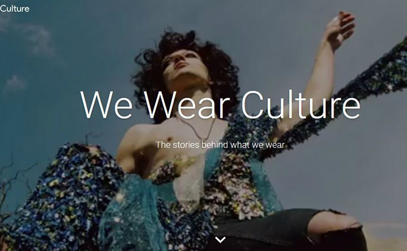 "Google's ""We Wear Culture"": 3000 years of world fashion"