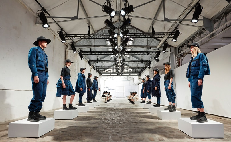 G-Star Raw's Aitor Throup launches women's raw research