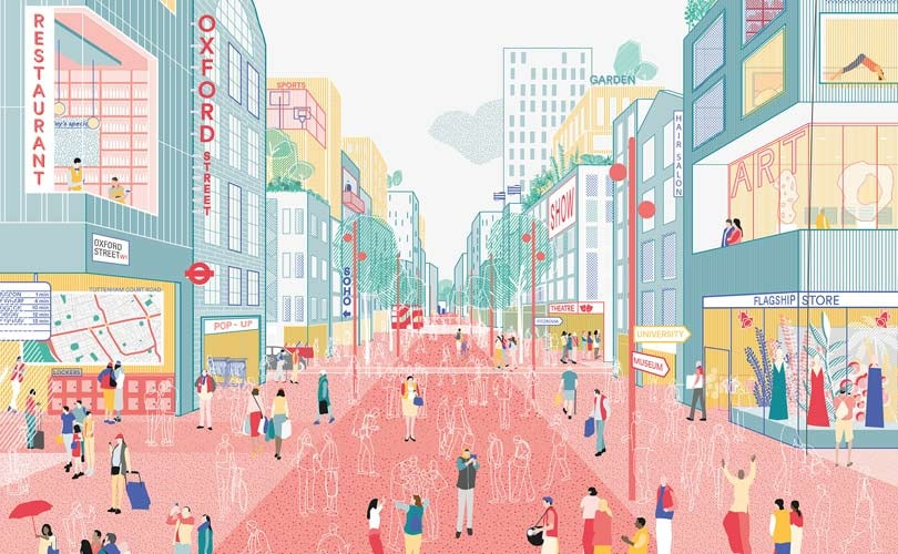 New vision for London's Oxford Street unveiled