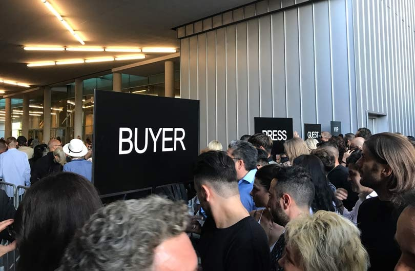 A day in the life of a buyer at Milan Fashion Week
