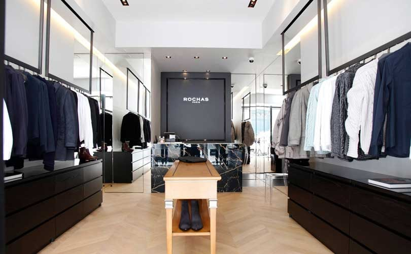 Rochas opens men's pop-up