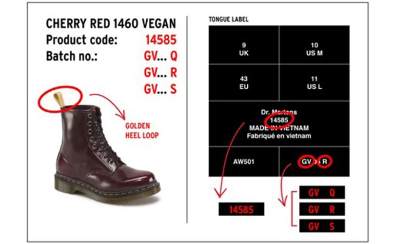 Dr. Martens recalls over 30,000 boots