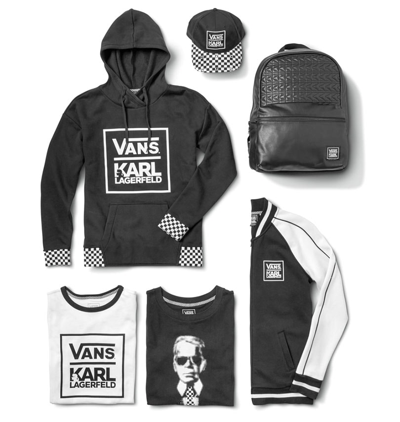 bedfa0645e03e6 Vans collaborates with Karl Lagerfeld for Fall 2017