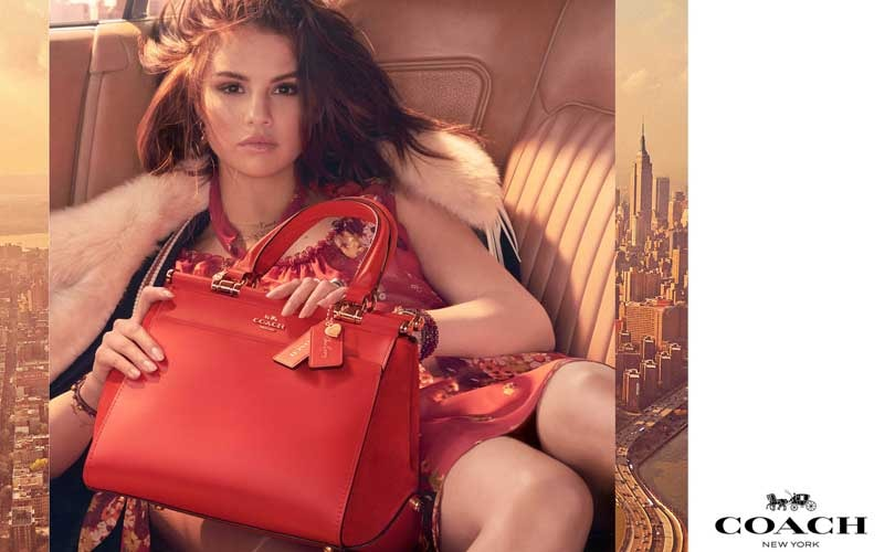 Coach unveils Selena Gomez collaboration
