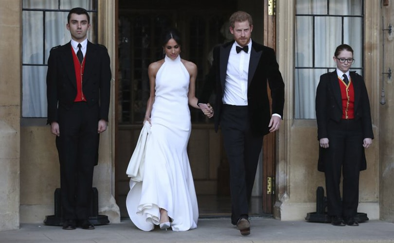 Stella McCartney to recreate Meghan Markle's wedding reception dress