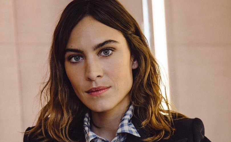 f430e565bef Alexa Chung on launching her label   Shit got real pretty quickly