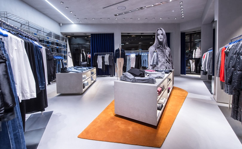 calvin klein opens multi brand stores in shanghai d sseldorf. Black Bedroom Furniture Sets. Home Design Ideas