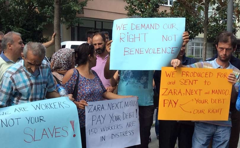 Zara, Next and Mango urged to Pay Workers Wages in Turkish Factory