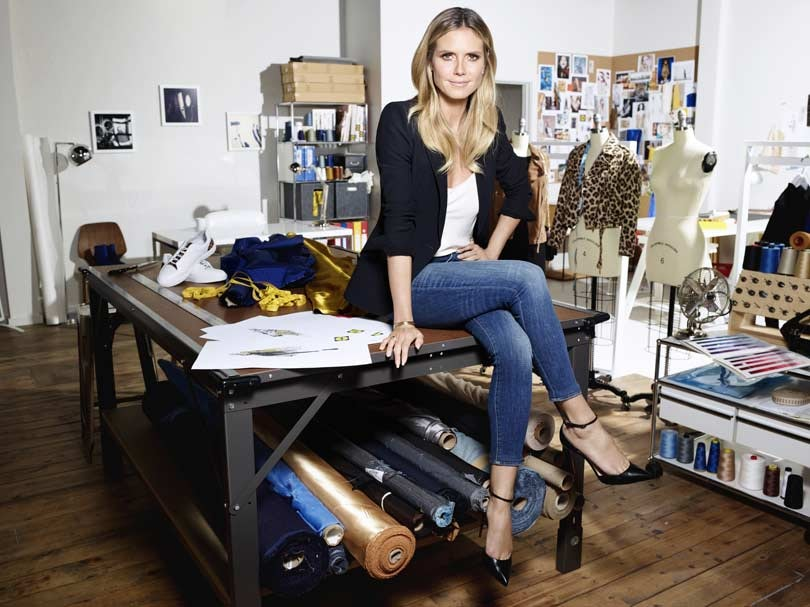 91df8cd43ef Q&A: Heidi Klum discusses her debut Lidl collection