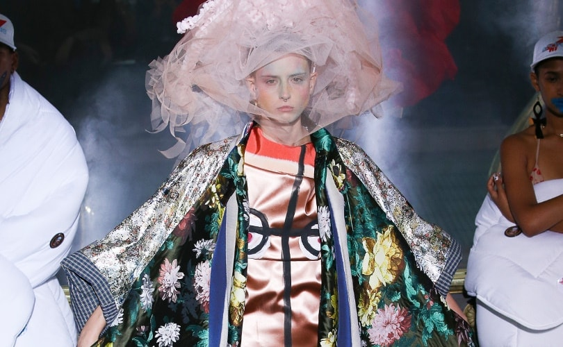 Vivienne Westwood Hosts Spectacularly Idiosyncratic Show At Pfw