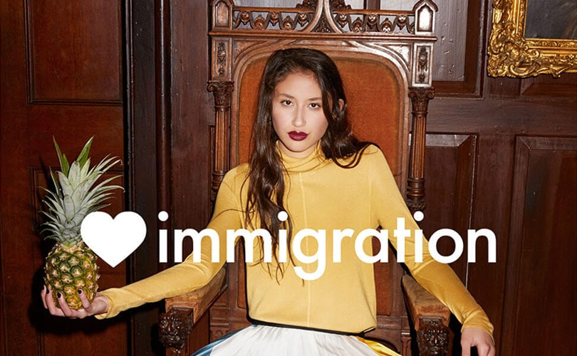 Jigsaw launches pro-immigration campaign for AW17