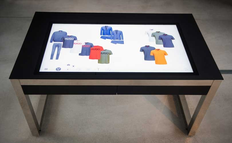 Hugo Boss launches first digital showroom