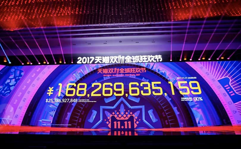 Singles Day breaks all records - again