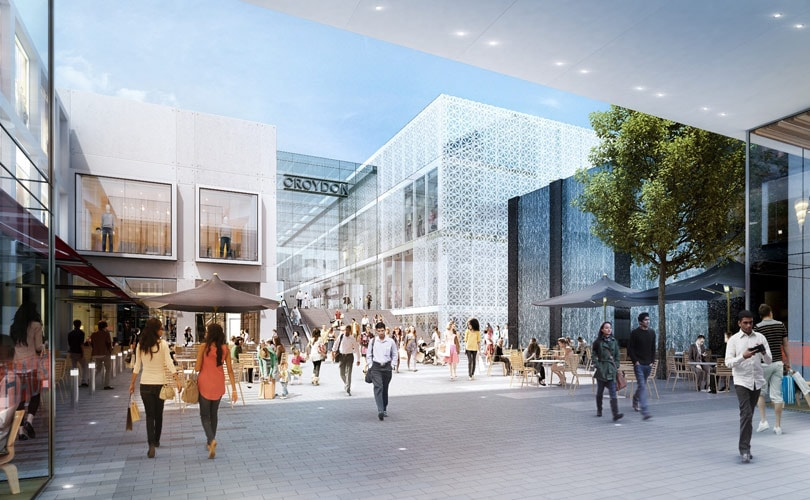 Plans for 1.4 billion pound redevelopment of Whitgift Centre in Croydon given green light