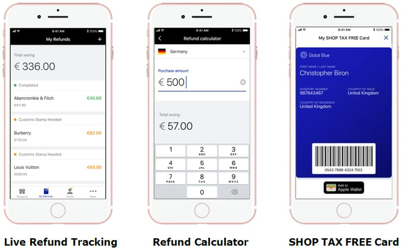 Global Blue launches new and improved Tax Free shopping app