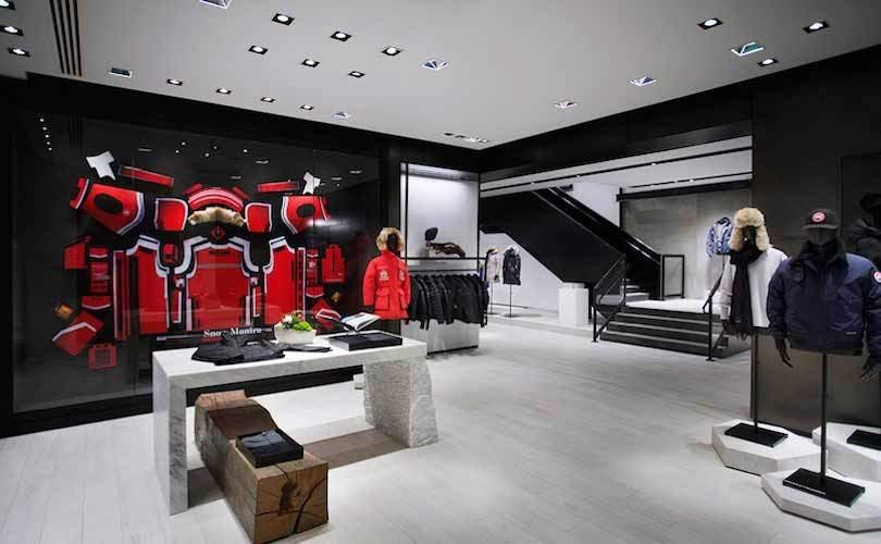 canada goose london store