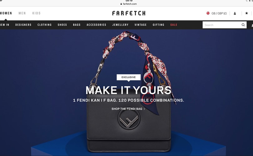 511b9ec3b4ee Fendi and Farfetch launch bespoke handbag service