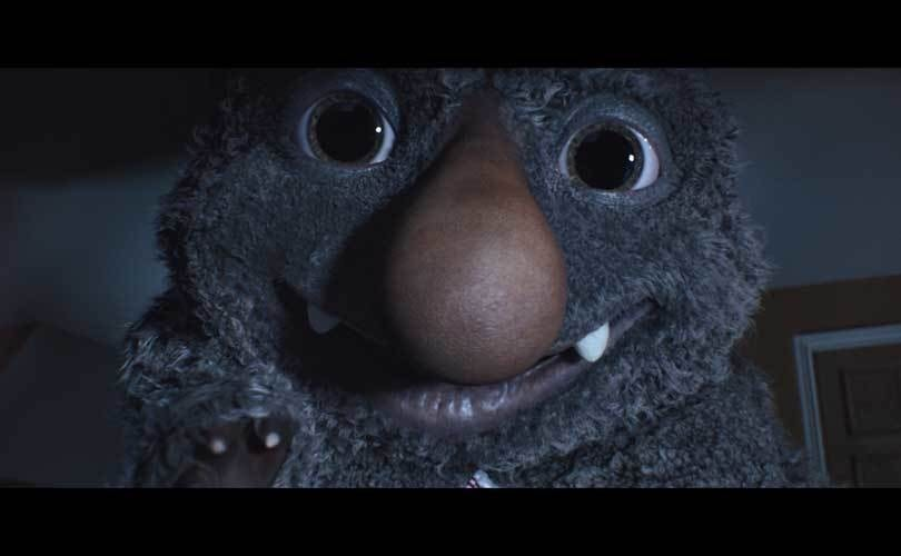 John Lewis introduces 'Moz the Monster'