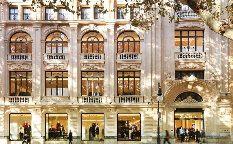 inditex to sell 16 zara stores in spain following online boom. Black Bedroom Furniture Sets. Home Design Ideas