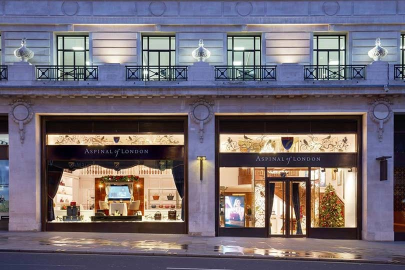 Aspinal of London opens largest flagship store in London