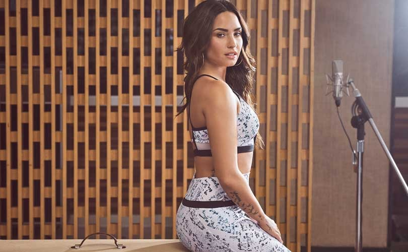 Demi Lovato collaborates with Fabletics