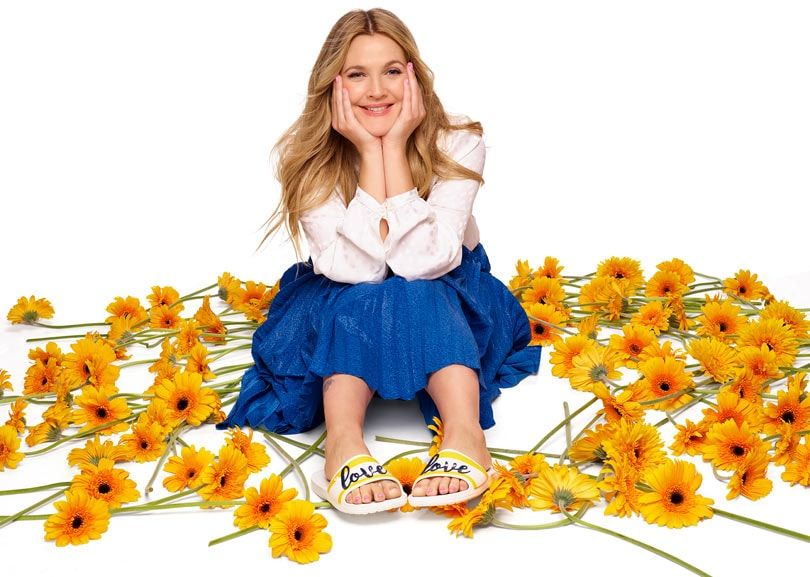 0faeefd80d9c71 In pictures  Crocs debuts Drew Barrymore collection