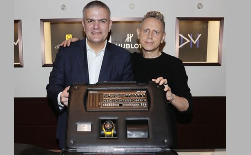 Hublot and Depeche Mode to release a collector's edition of 55 Big Bang watches
